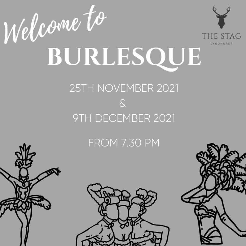 Welcome to Burlesque Stag